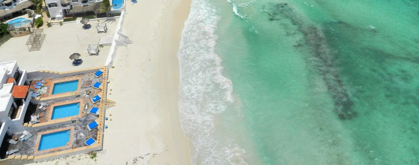 Secret Beach Villas, Playa del Secreto, Mayan Riviera, Mexico - Aerial View